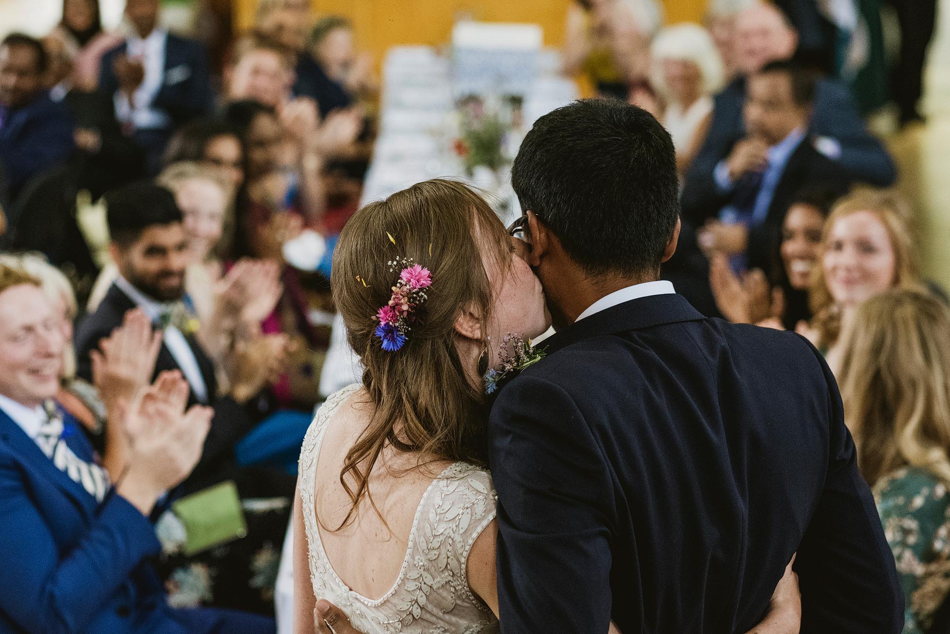 Cecil Sharp House documentary wedding photographer
