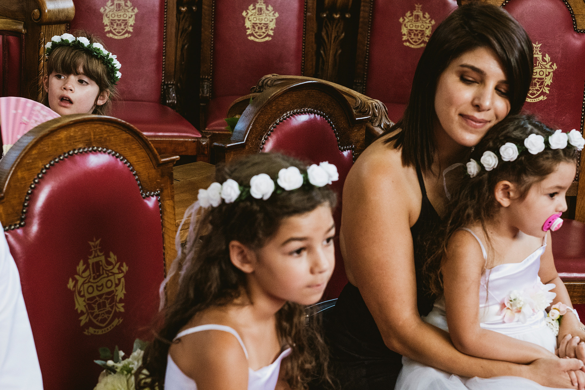 Bridesmaids, Islington Town Hall Wedding