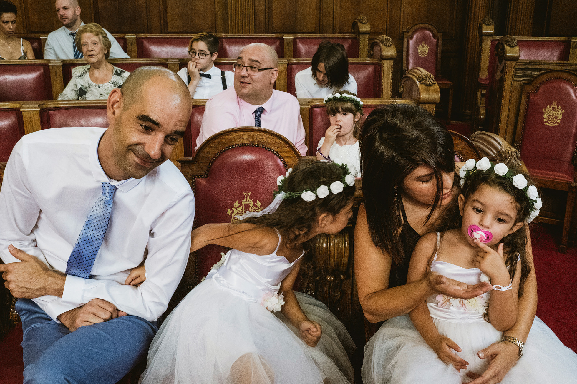 Court style wedding venue - Islington Town Hall
