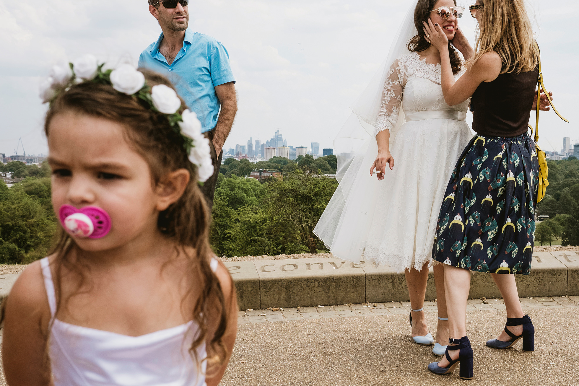 Jewish Wedding ceremony on Primrose Hill