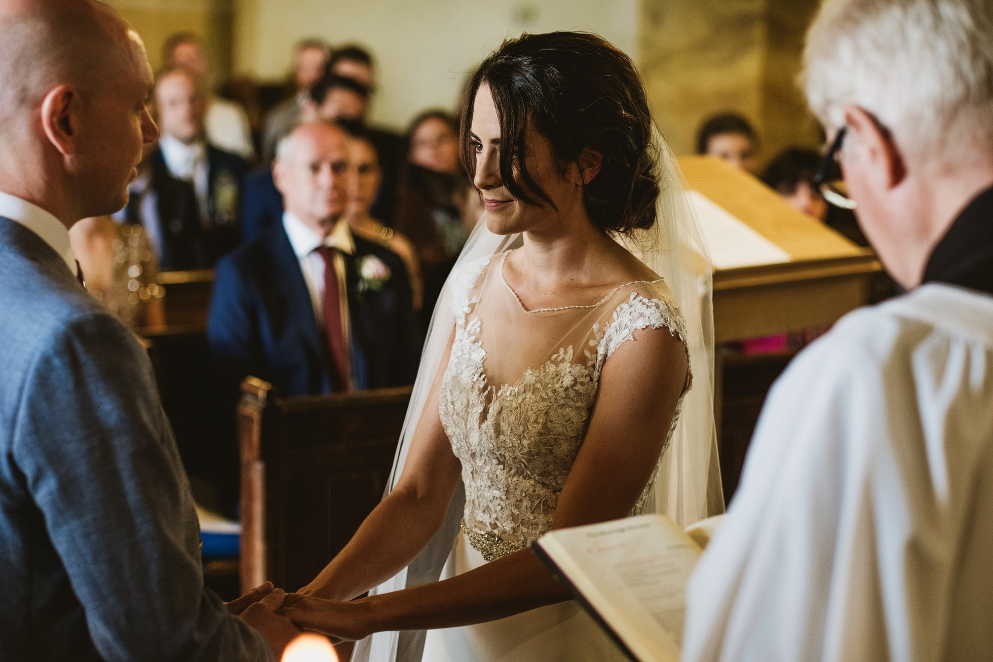 St. Oswald's Church Leathley Wedding Photographer