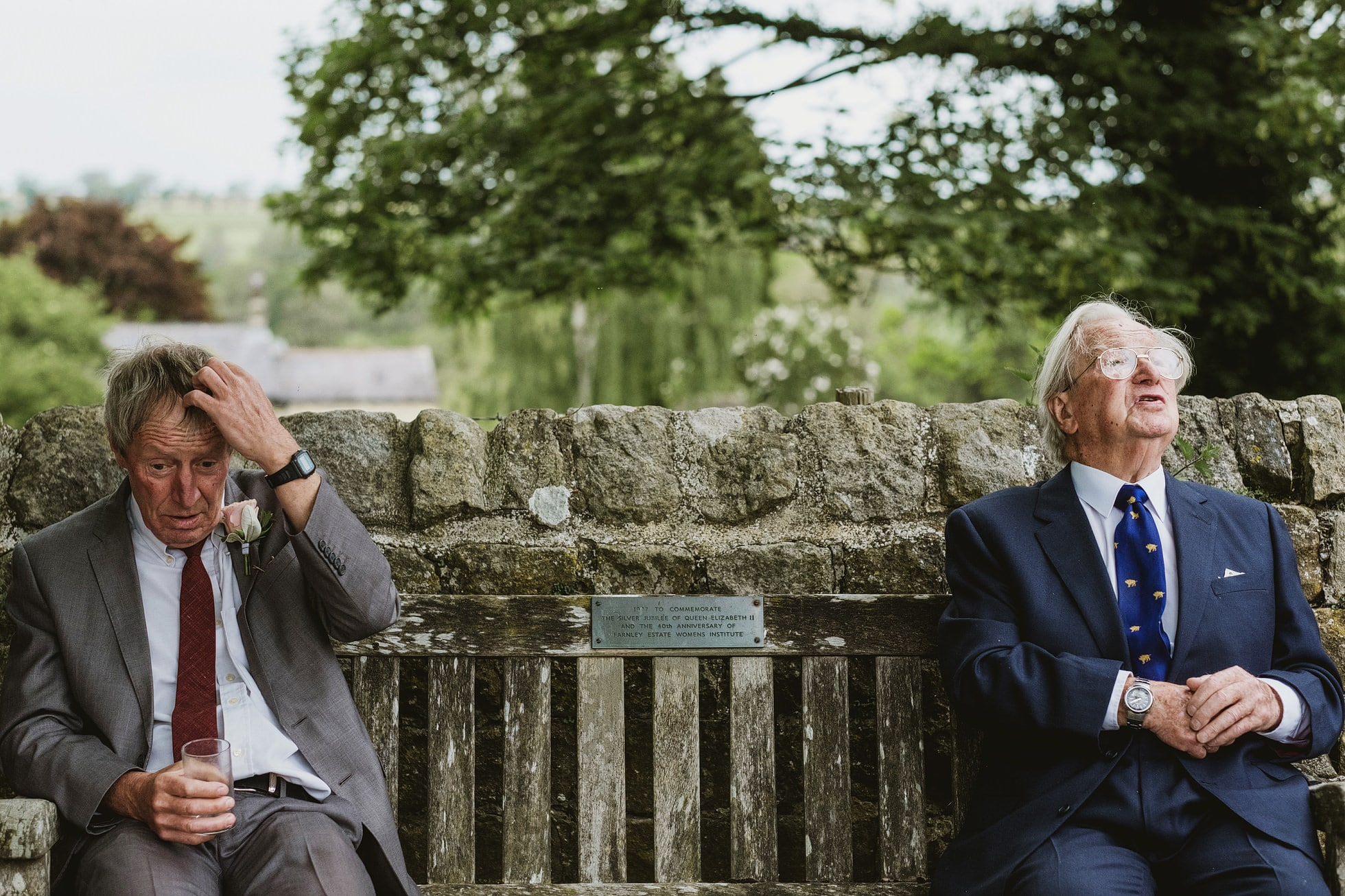 Leathley Village Hall wedding photographer
