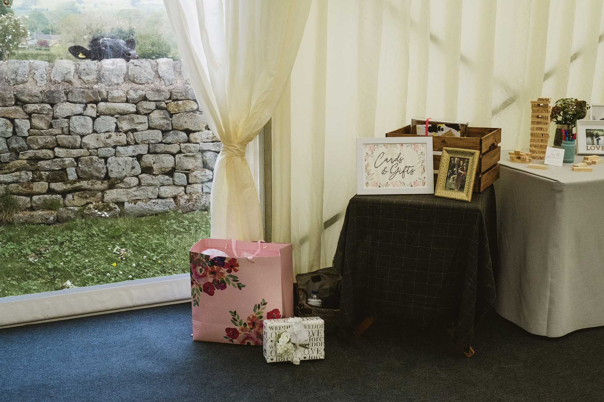 Leathley Village Hall wedding