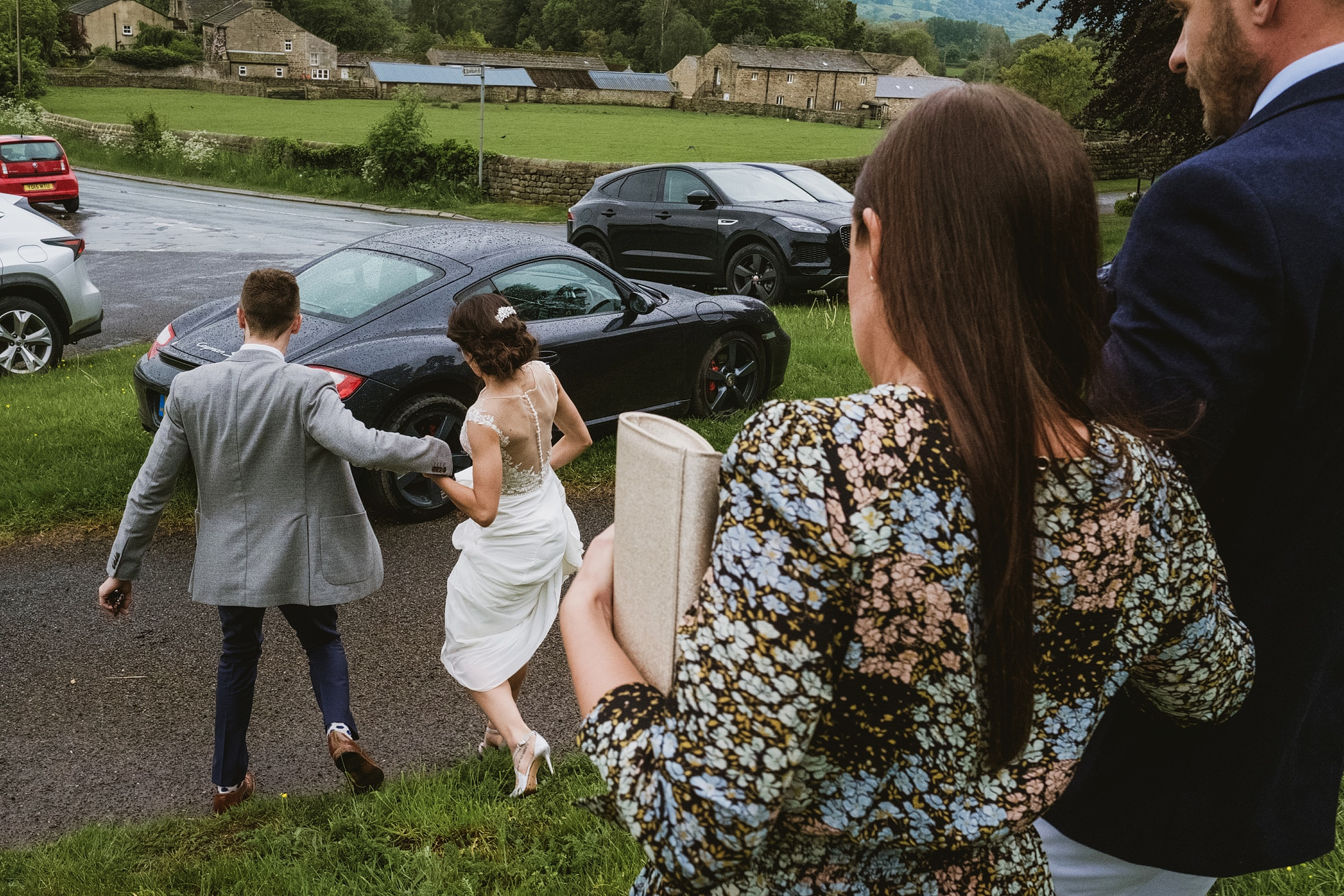 Leathley Village Hall Leeds wedding photographer