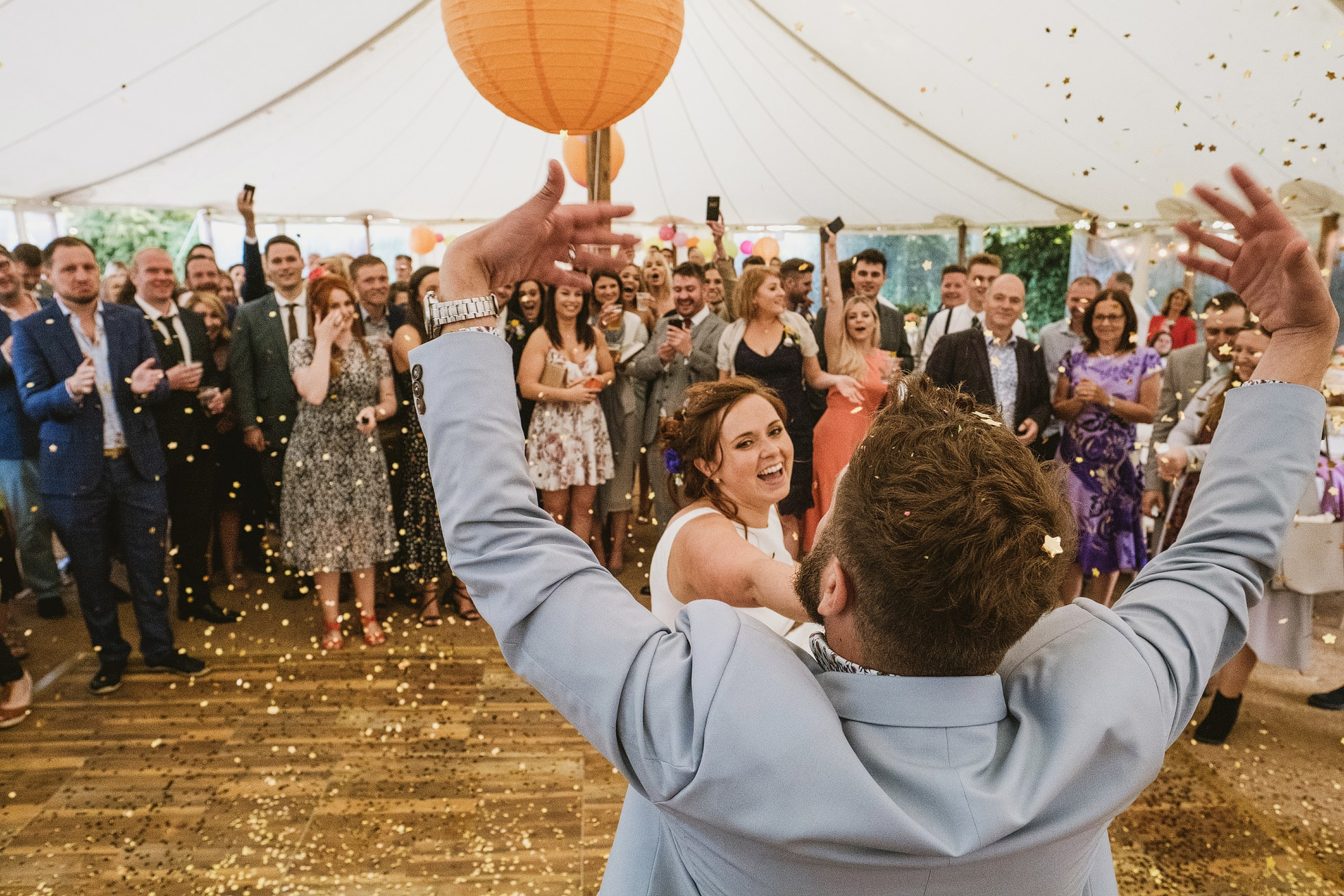 Outdoor Candid Wedding Photography