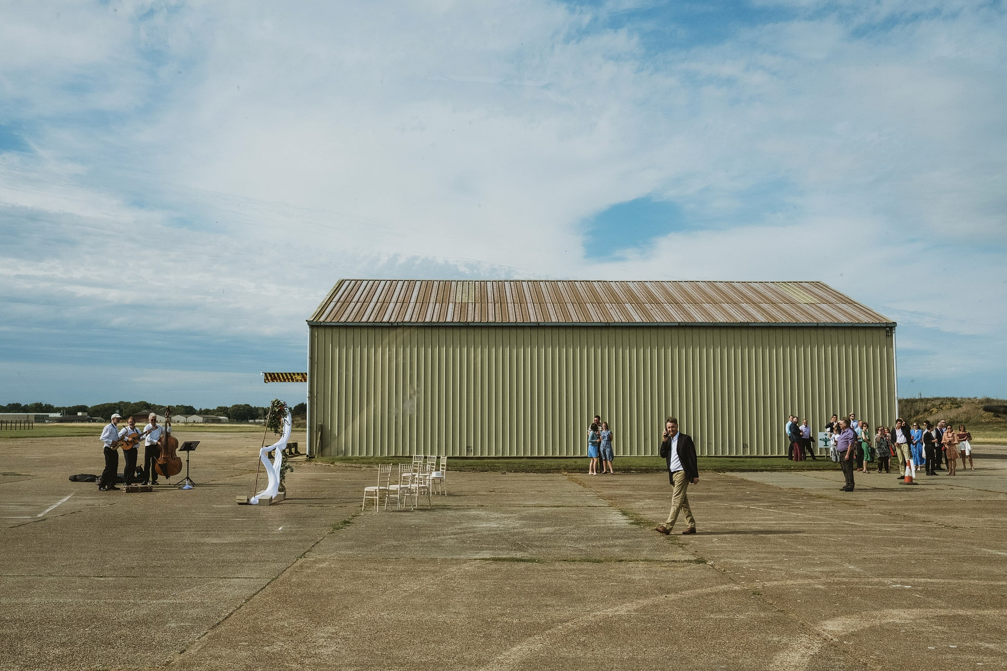 Old Jet, Bentwaters Parks Wedding Photography