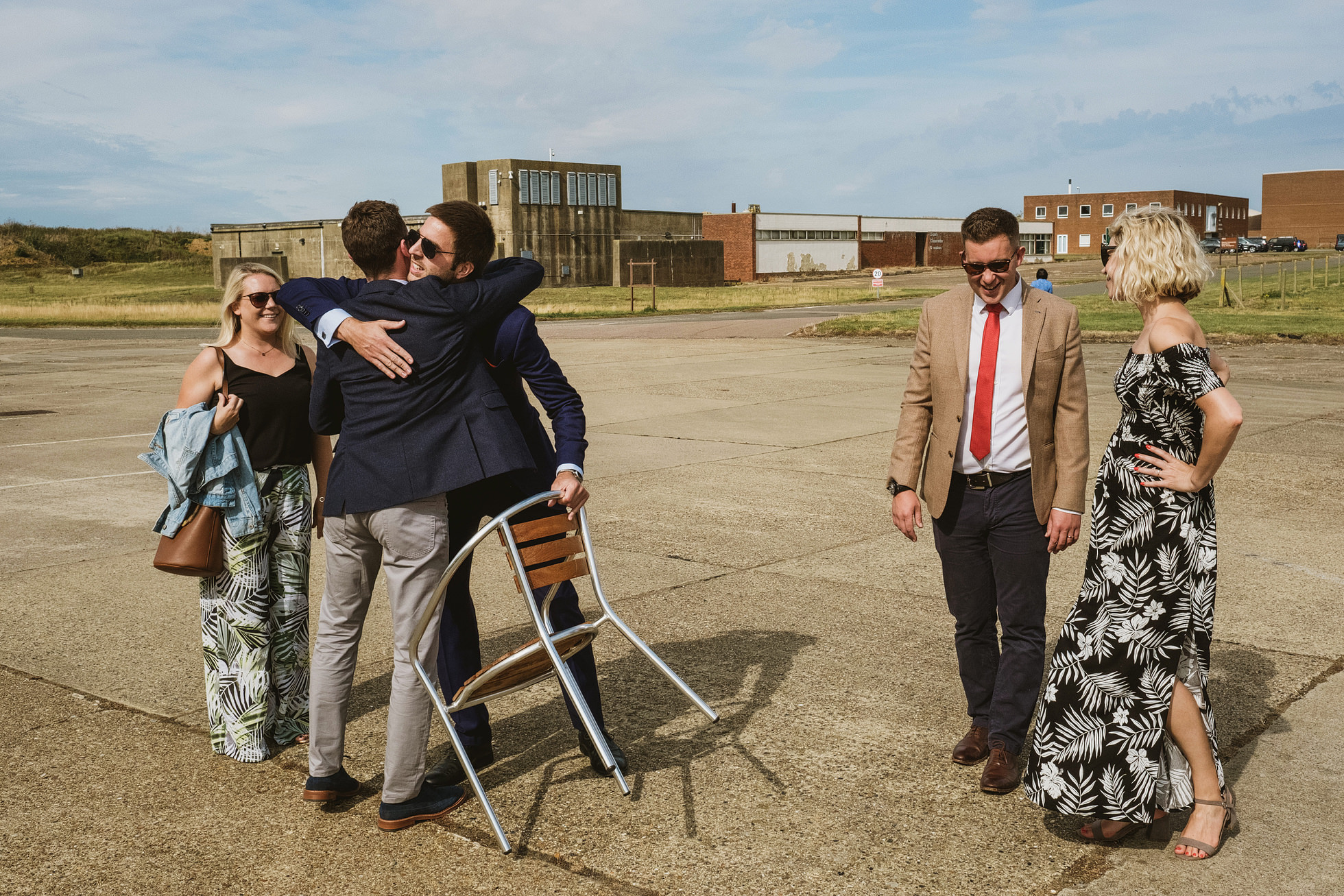 Old Jet, Bentwaters Parks Wedding Photographer