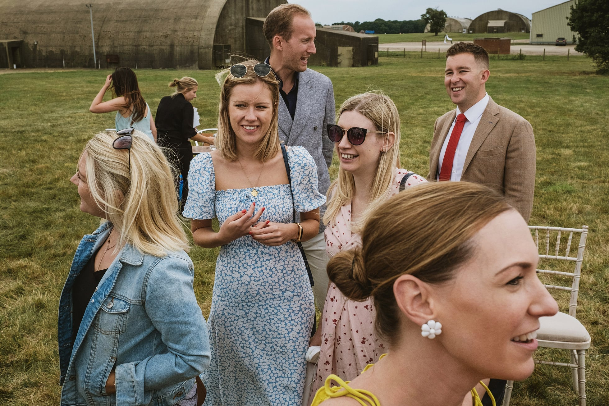 Old Jet, Bentwaters Parks documentary wedding photography