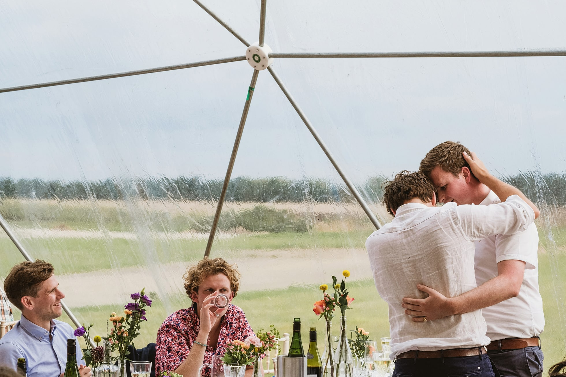 Old Jet, Bentwaters Parks documentary wedding photographer