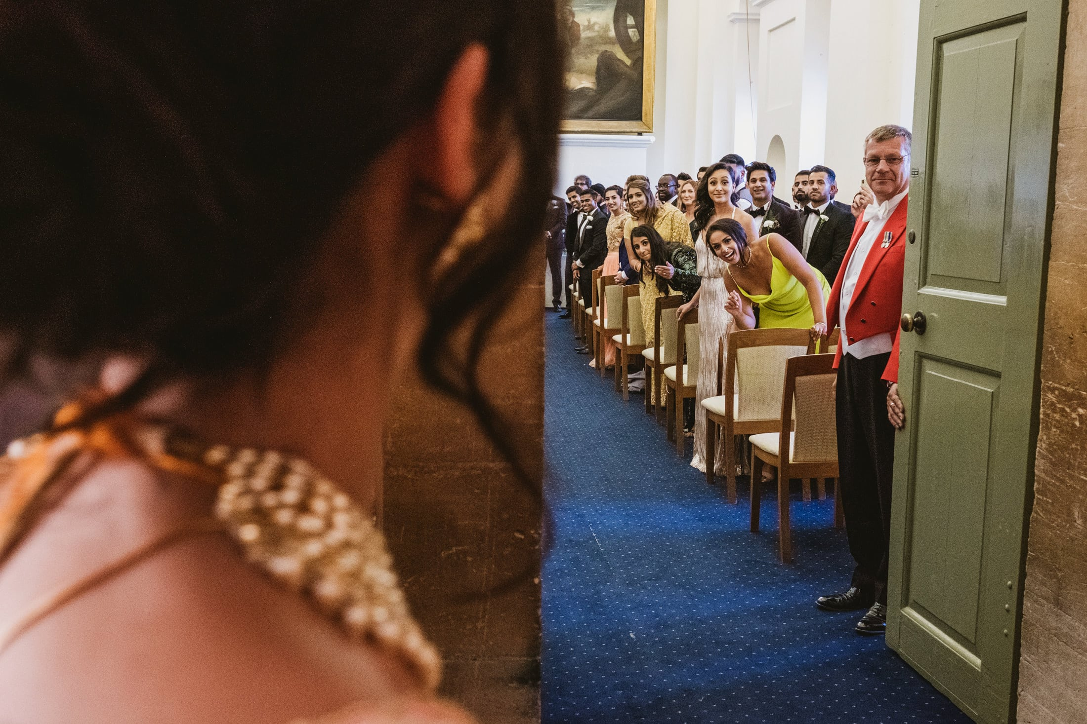 Blenheim Palace wedding ceremony