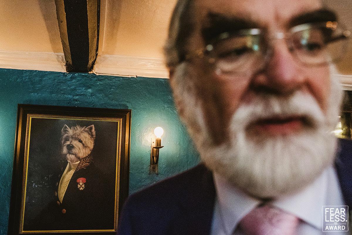 Best Wedding photographer UK Fearless Award winner