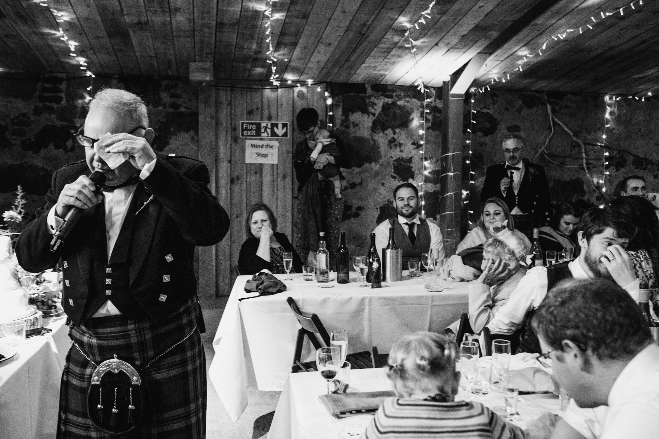 wedding speeches, emotional moments