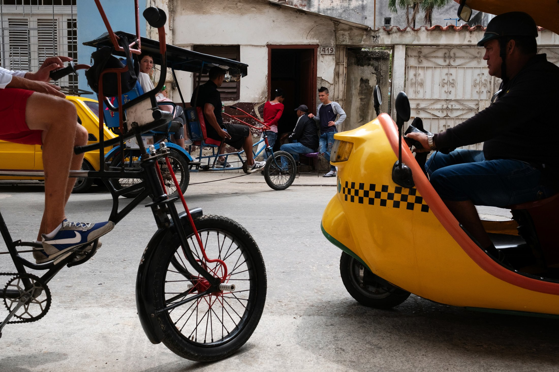 Scene in Cuba