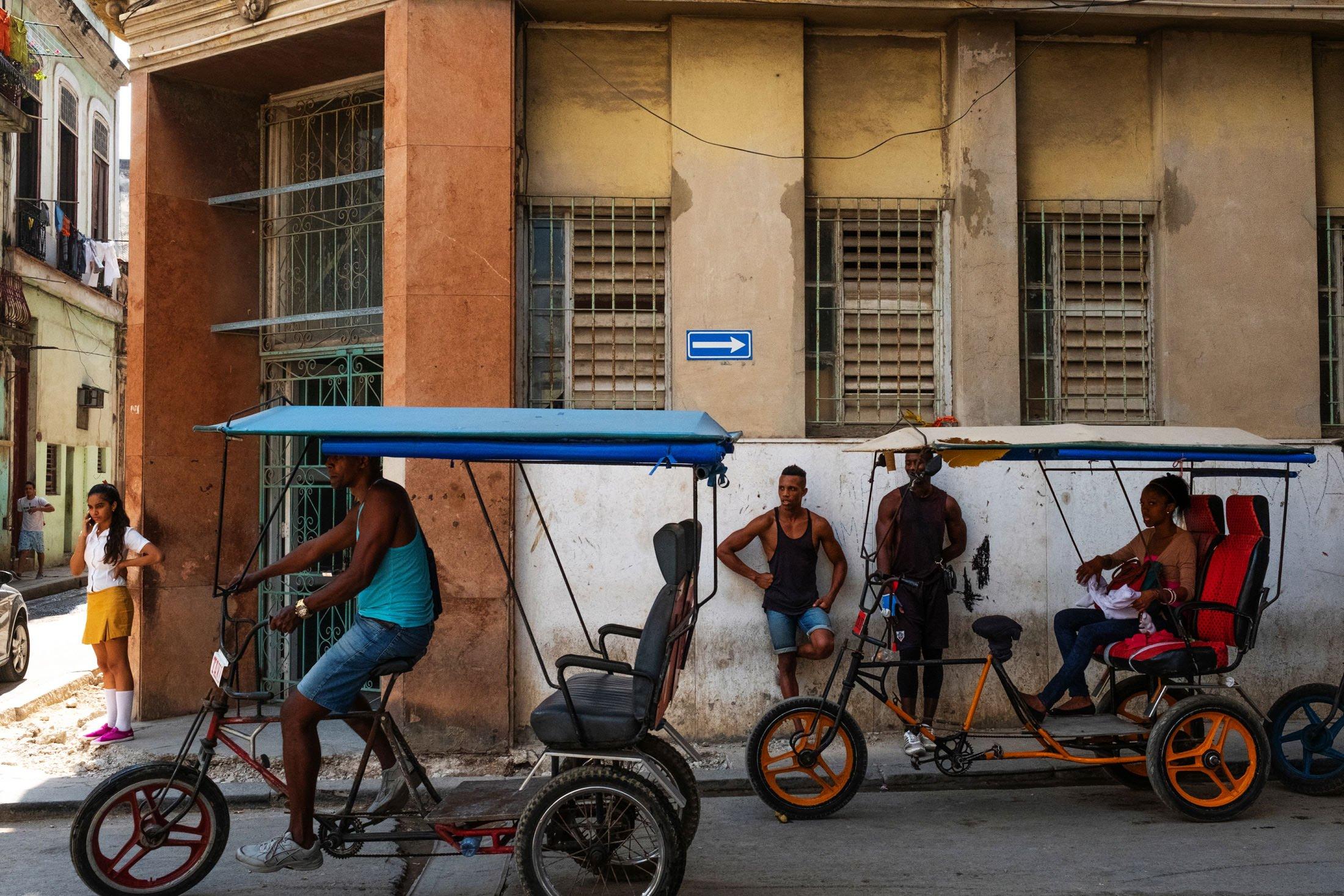 Cuba scene in Havana