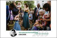 Fearless Award winning London documentary wedding photographers