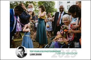 Fearless Award winning London documentary wedding photographers