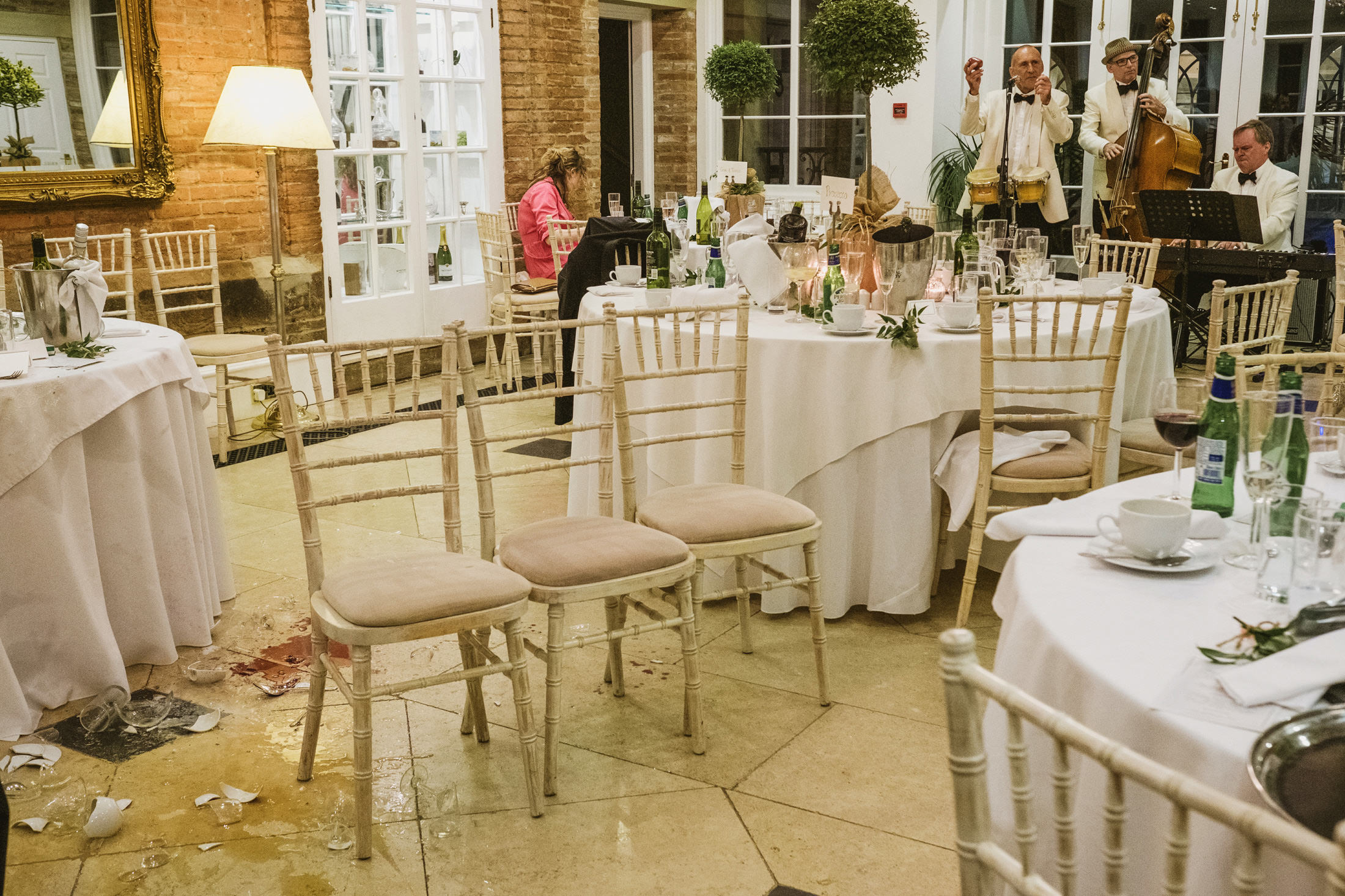 Goldsborough Hall wedding reception