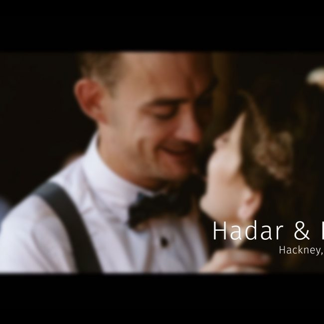 hackney london Wedding video