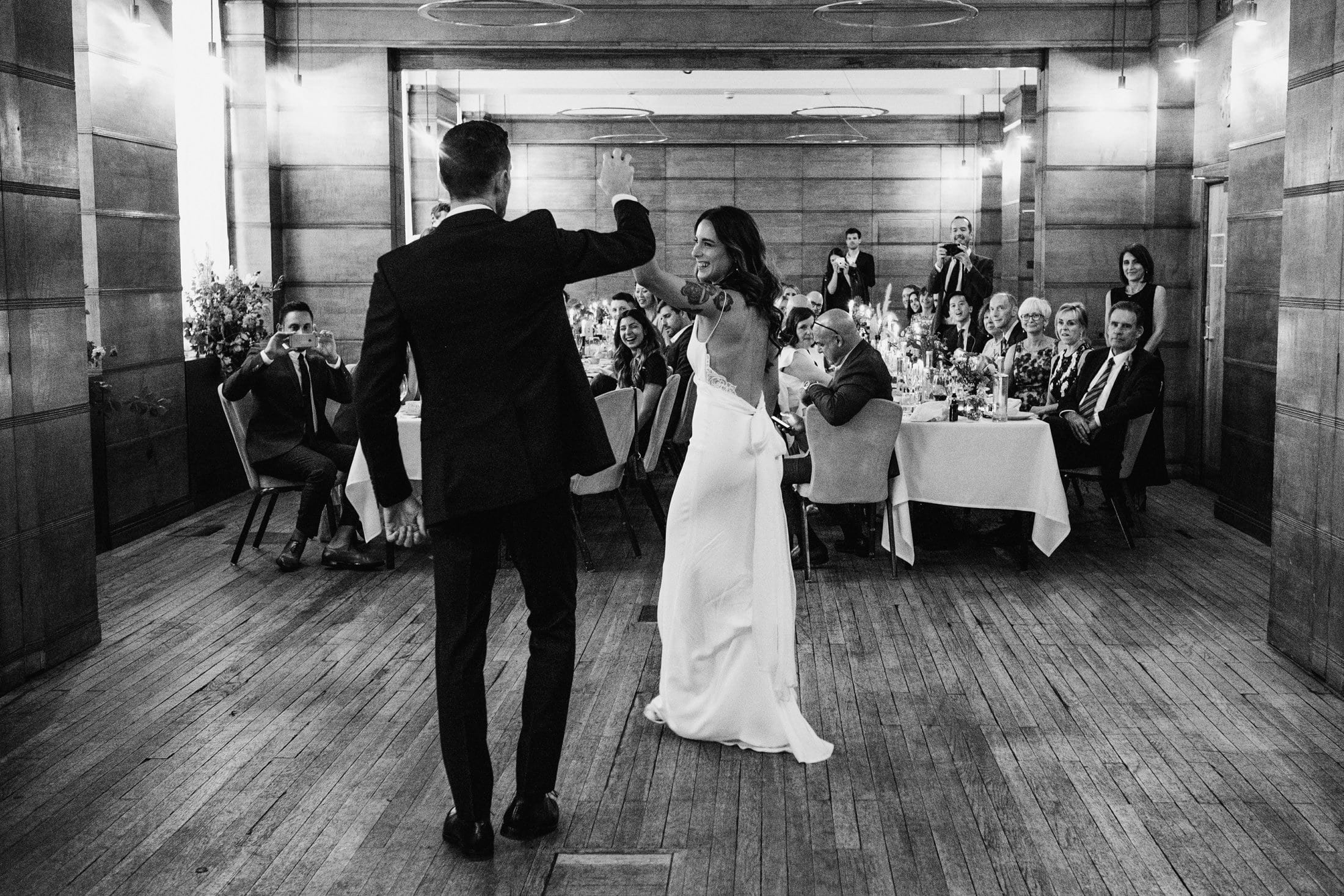 Town Hall Hotel London first dance