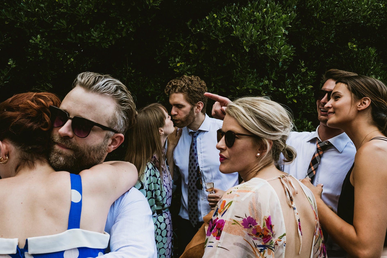 Pump House Battersea Park wedding guests