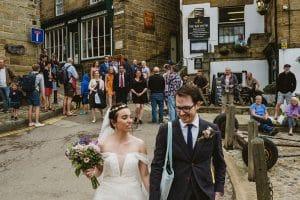 Robin's Hood Bay Wedding Photography