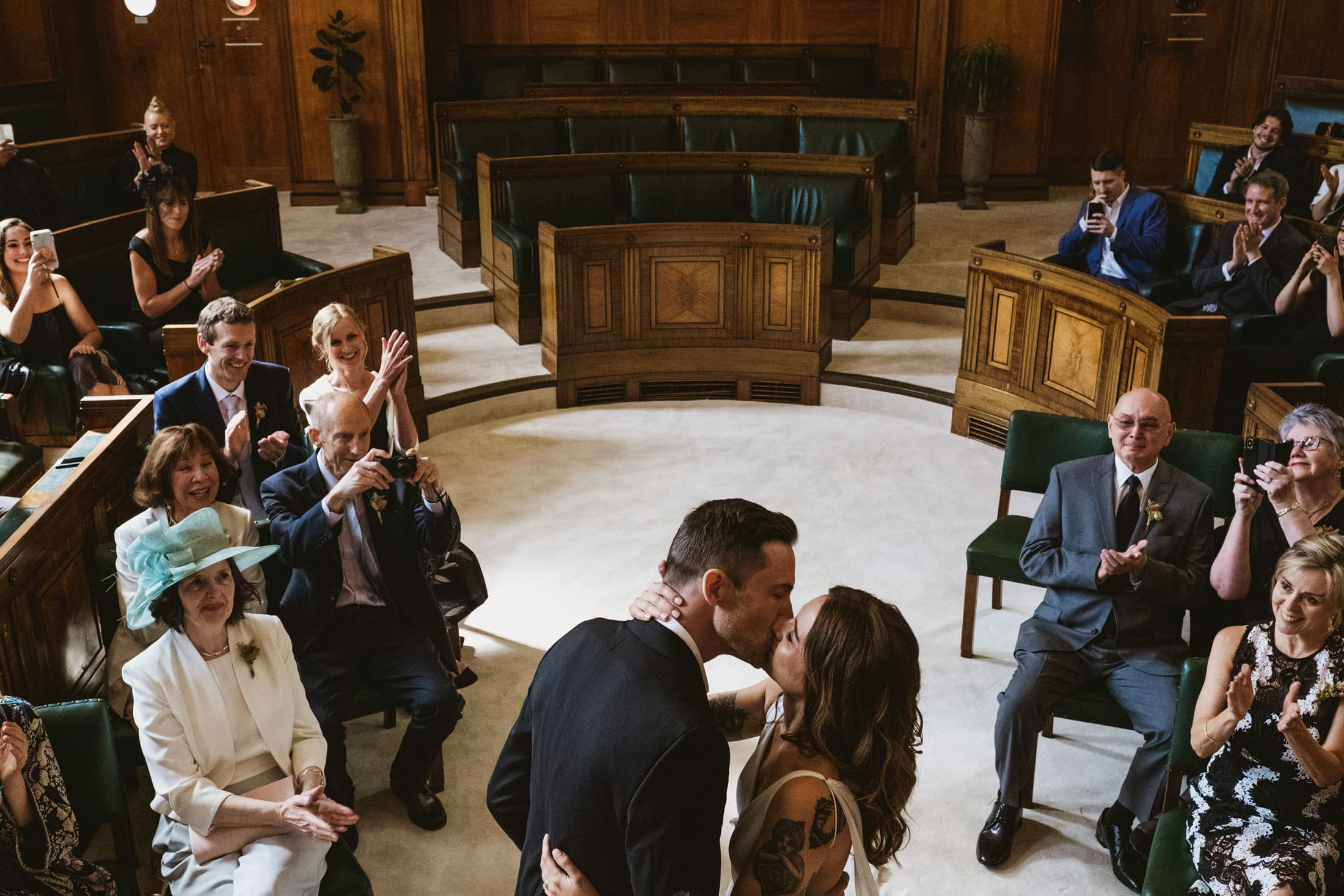 Town Hall Hotel London Wedding