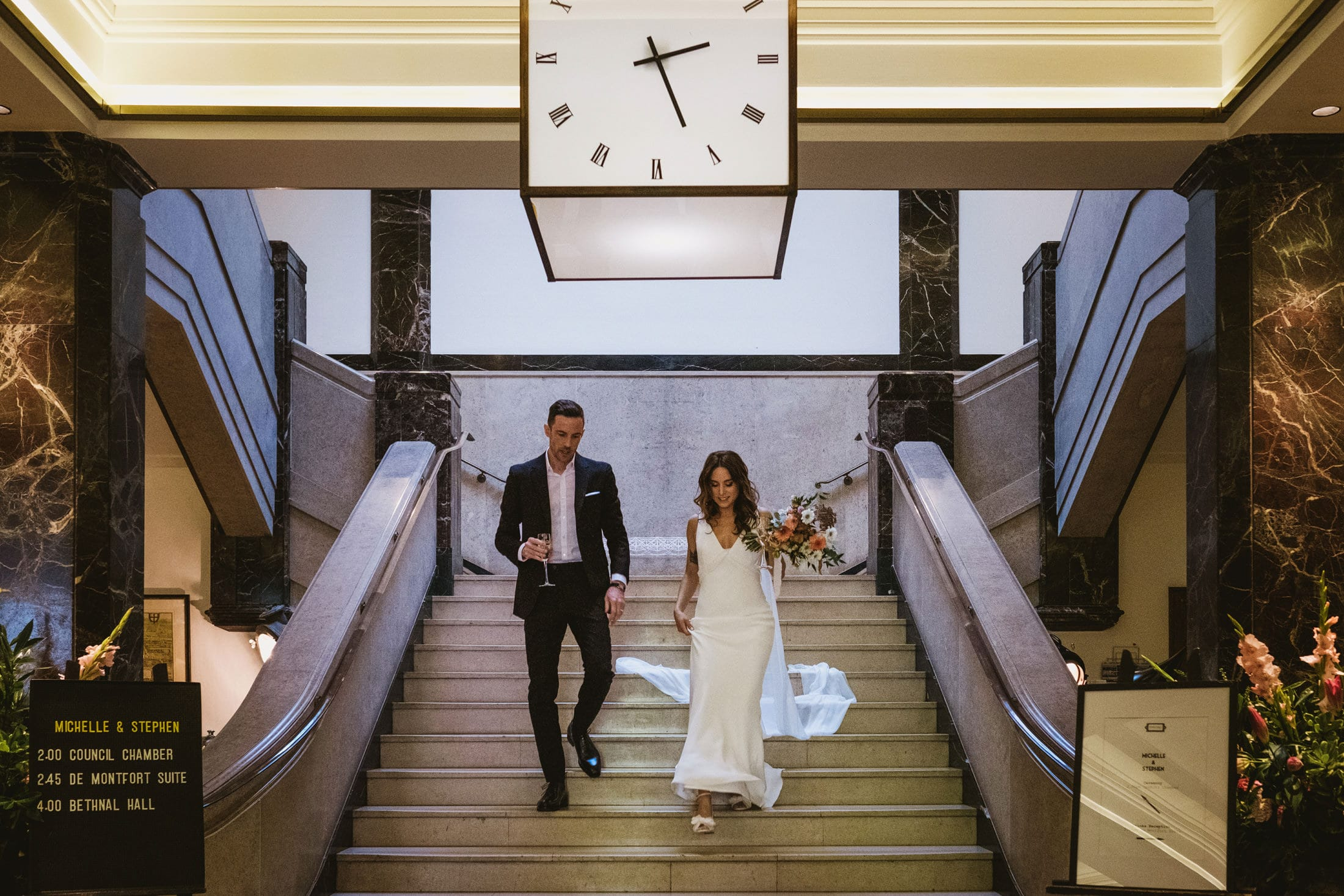Town Hall Hotel London Documentary Wedding Photography