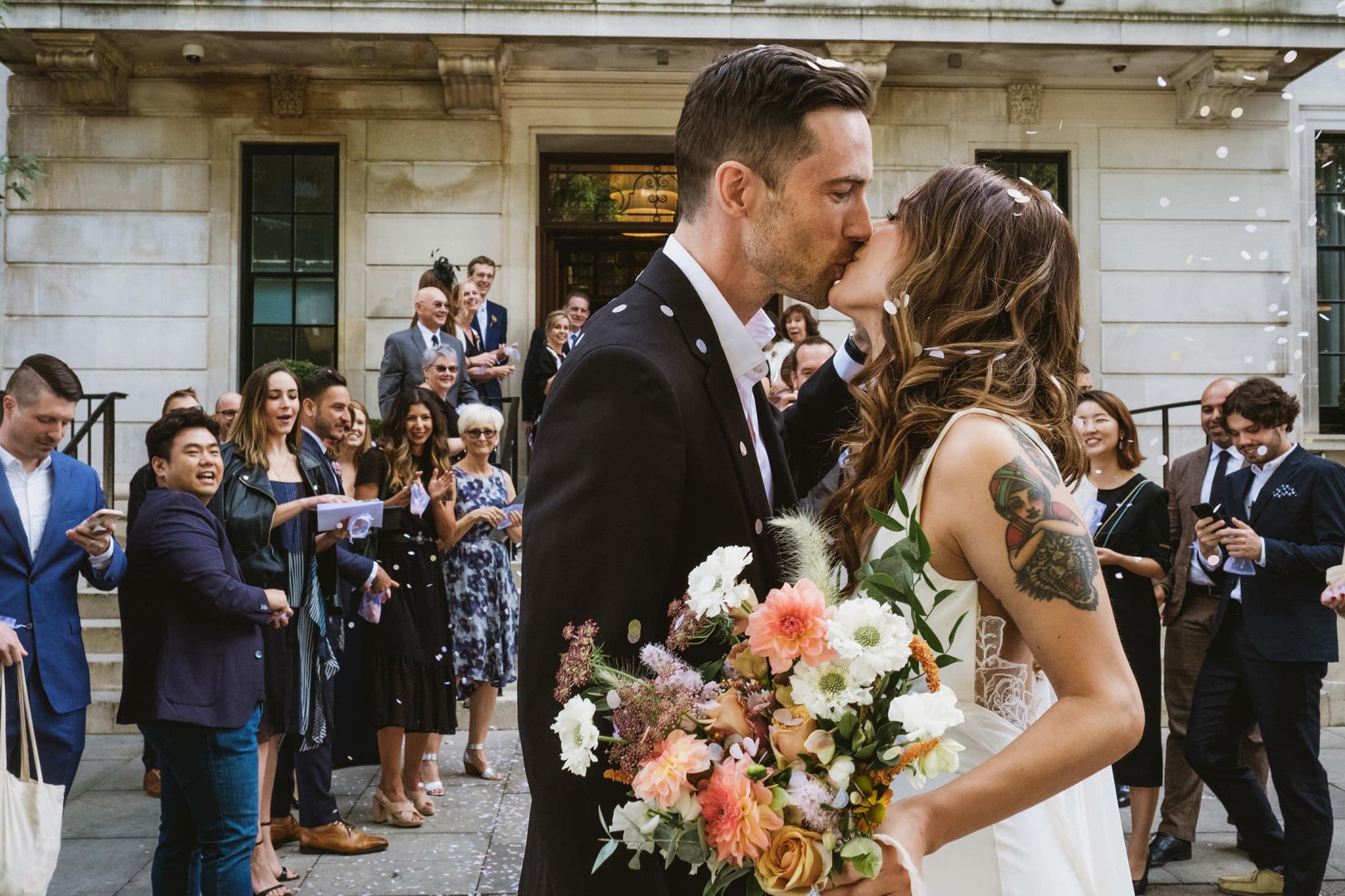 Town Hall Hotel London Documentary Wedding