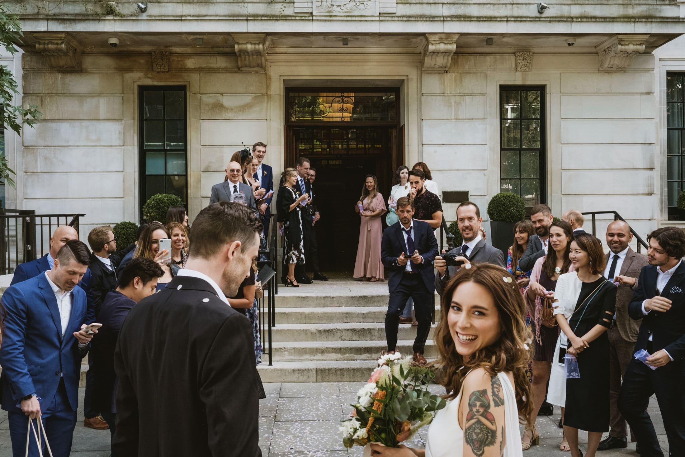 Town Hall Hotel London Wedding