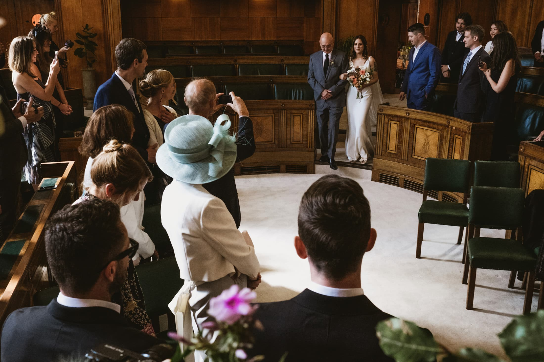 Town Hall Hotel London ceremony