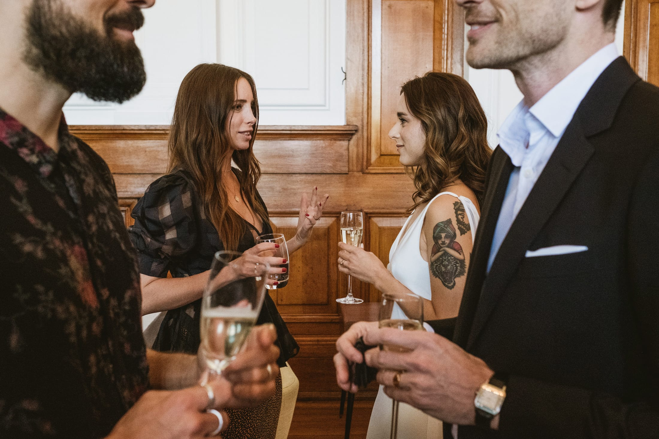 Town Hall Hotel London Reportage Wedding Photographers