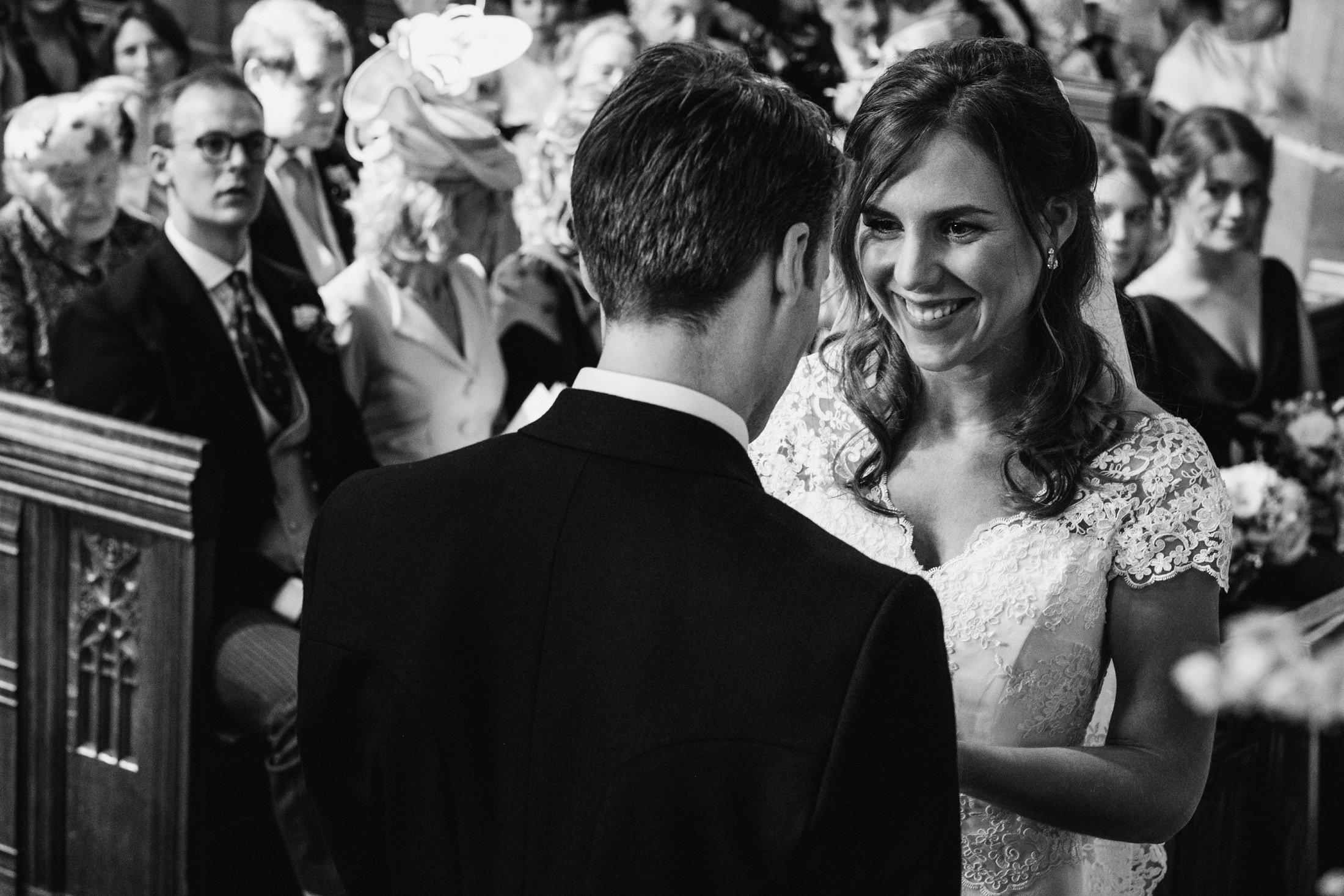 Reportage cheshire wedding ceremony in Cheshire