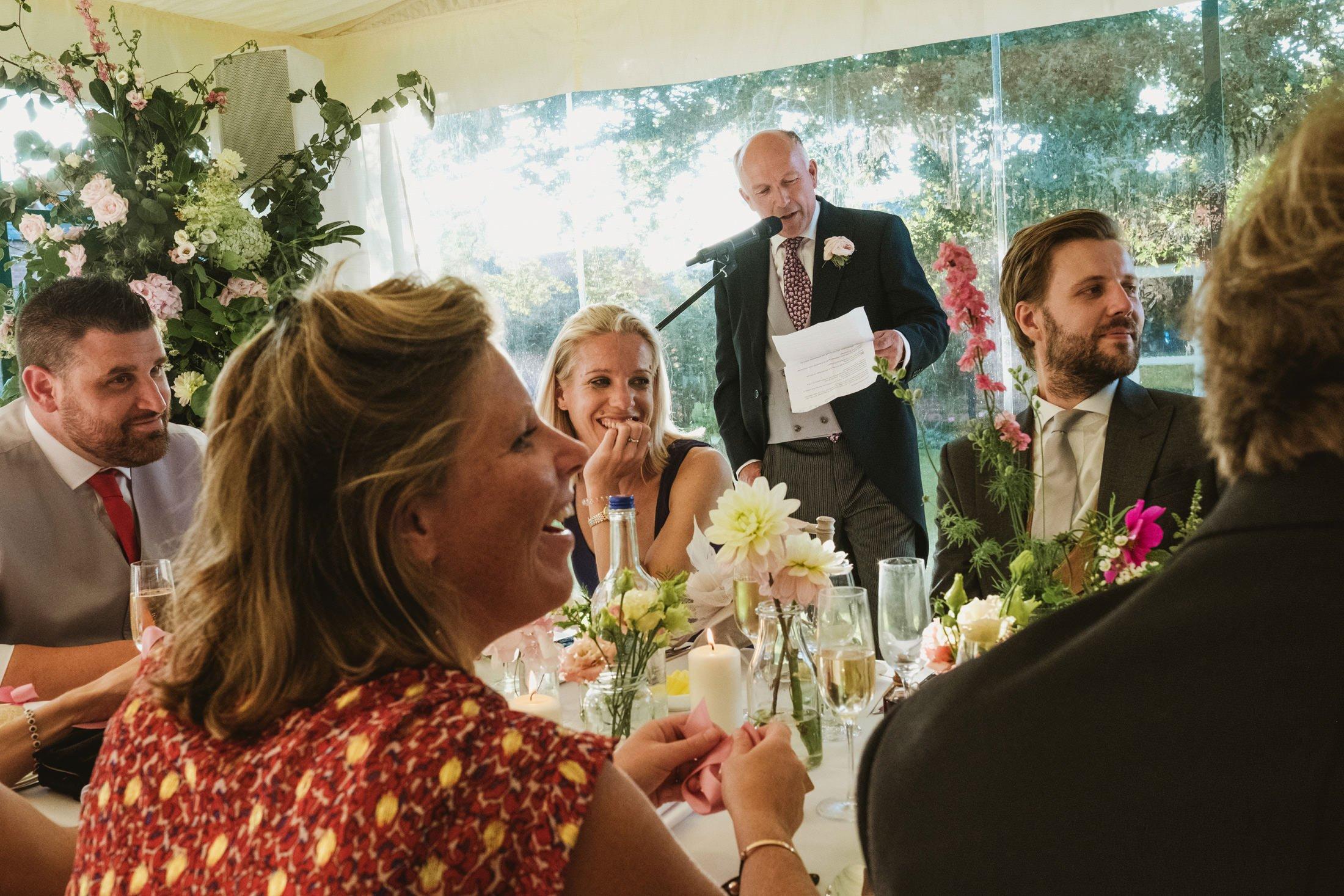 wedding speeches in Cheshire